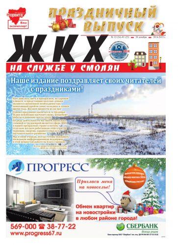 """ЖКХ на службе у смолян"" №24-25 (декабрь 2014-январь 2015)"