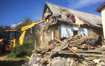 В Вязьме снесут более двух десятков домов