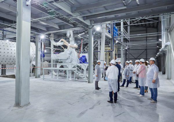 Открылся новый завод в Вяземском районе