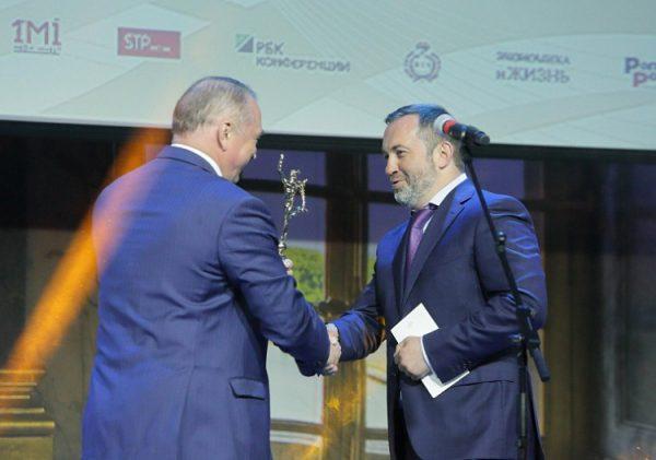 Вяземский завод синтетических продуктов получил премию «Золотой Меркурий»