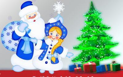 Дед Мороз и Снегурочка уже в пути!