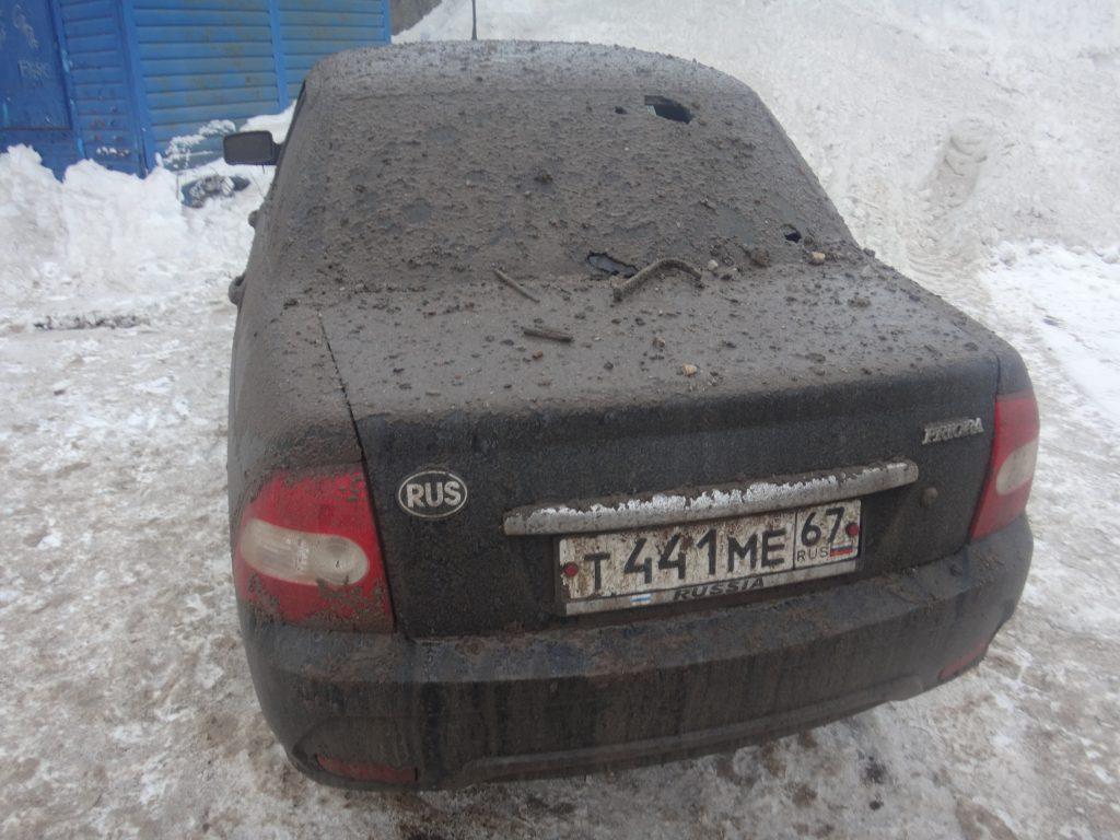 порыв паропровода Смоленск