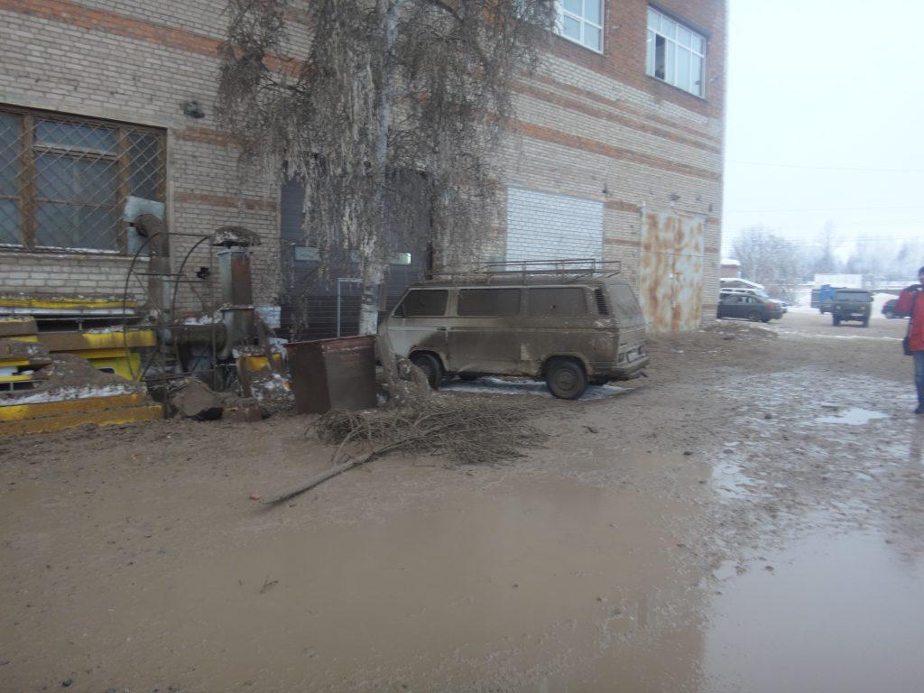прорыв теплосети в Смоленске