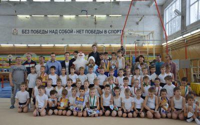 Школе спортивной гимнастики в Смоленске исполнилось 45 лет