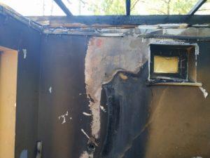В Смоленске на Фрунзе загорелось кафе