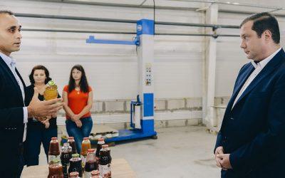 Губернатор проинспектировал вяземский завод по производству соков