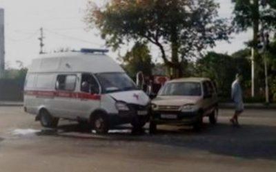 В Смоленске произошло ДТП  с каретой «скорой помощи»
