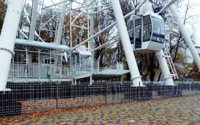 Когда запустят новое колесо обозрения в Смоленске