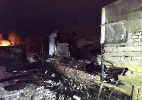 В Смоленской области взорвался дом